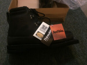 Alico all leather 3 pin boots - mens 12