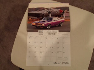 New 2009 DODGE MUSCLE CARS CALENDAR                       x2 Sarnia Sarnia Area image 4