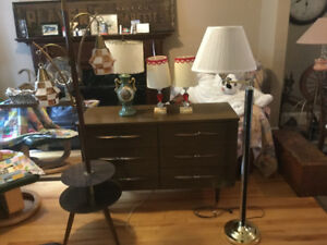 Vintage lamps for sale - all in great shape