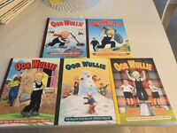 Oor Wullie annuals in near mint condition 21 in total