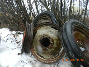 8N Ford, front wheels