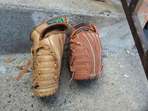 Gants de baseball glove
