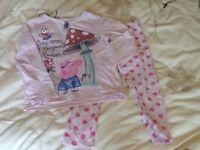 Peppa Pig pyjamas, age 3-4 years