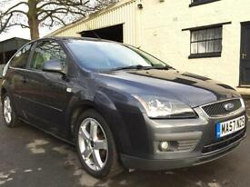 2007 57 Ford Focus 1.6 (100) Zetec Climate 3 Door Met Sea Grey
