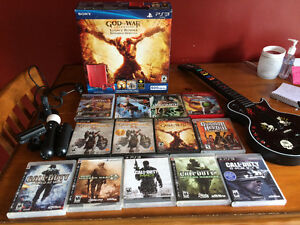 PS3 500gb bundle with games London Ontario image 1