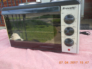 Bravetti Platinum Pro 2 Burner Stove Top PLUS Convection Oven