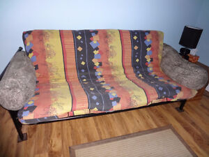 FREE  Metal Futon Sofa/Bed  -  PICK UP ONLY
