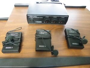 3 Channel Microphone System.