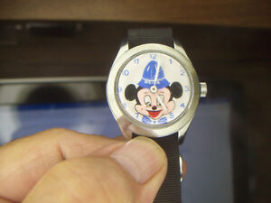 RARE MICKEY MOUSE WATCH  and TIMEX LION KING WATCH London Ontario image 2