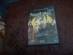 THE COMPLETE SEASON 3 PARANORMAL STATE DVD SET