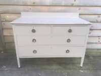 Grey Shabby Chic Chest of Drawers