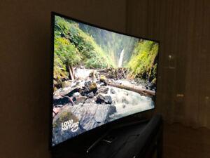 "Samsung TV 4K UHD curve 55"""