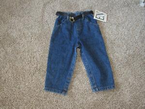 Pants and belt