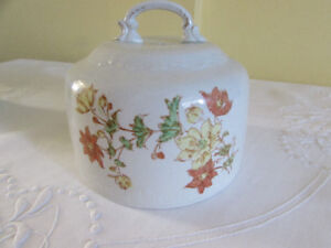 Antique Empire Works Ironstone Butter Cover