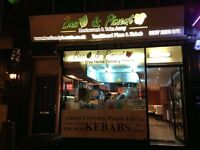 Takeaway restaurant Kebab shop for sale