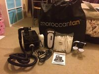 OVER £360 WORTH - FOR SALE: PROFESSIONAL SPRAY TAN KIT AND ACCESSORIES