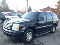 2002 Cadillac Escalade Black on grey leather inteior, runs great
