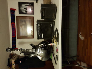 Guitar amps and accessories