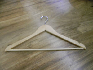 WOOD HANGERS FOR SALE $.50 EACH