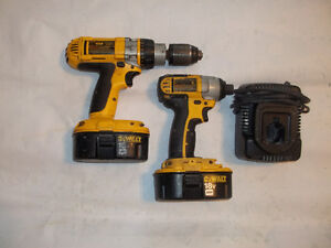 Dewalt 18v Hammer drill and impact combo