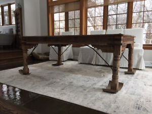 Antique Table from India - Teak wood