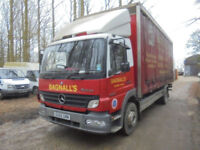 Mercedes-Benz Atego CURTAIN SIDER 15 TONNE