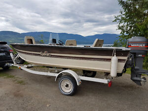 Boat. Motor and Trailer