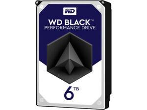 NEW SEALED WESTERN DIGTAL BLACK 6TB HDD