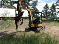2005 Caterpillar 305 CR mini excavator