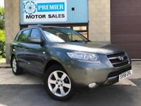 2006 HYUNDAI SANTA FE 2.2 CRTD ELITE 4WD AUTO 7 SEATER, SAT NAV, FULL LEATHER