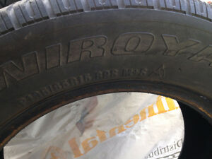 4 pneus d´hiver