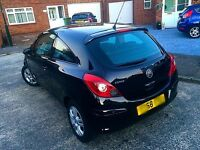 58 REG VAUXHALL CORSA BLACK 1.0 PETROL 3 DOOR ((micra vxr bmw astra ford audi golf car))