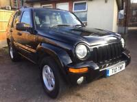 2003 Jeep Cherokee 3.7 V6 AUTO Limited, Black, FULL HISTORY.