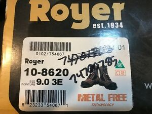 Mens Royer Work Boots - BRAND NEW UNUSED WITH TAGS