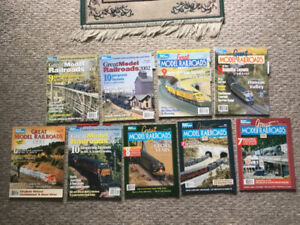 Modelrailroad magazines and annual layout specials