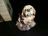 Puppies by Country Artists Dog Ornament
