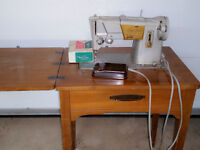 Singer Sewing Machine with attached table
