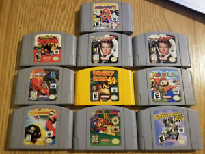 N64 Games (Prices in description)