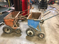 Roofing gravel buggies $190