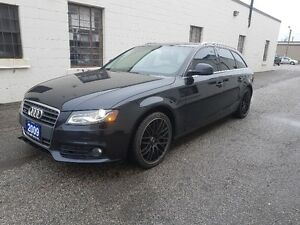 2009 AUDI A4 2.0T QUATTRO WAGON NO ACCIDENT/PANORAMIC ROOF