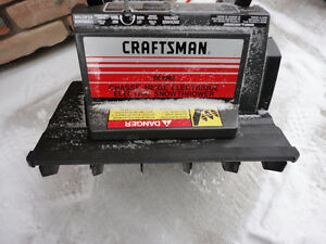 Electric Craftsman Snow Thrower In Excellent Working Condition