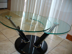 Glass Swivel Coffee Table DELIVERY?