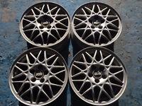 "Genuine 15"" BBS 458 alloy wheels mk3 Golf /corrado vr6"