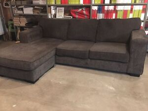 *Sold pending P\U - Charcoal Sectional - 1yr old