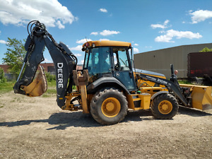 Backhoe Excavator and Operator for Hire