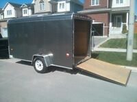 Delivery service open dump or enclosed trailer