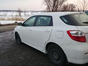 Toyota Matrix 2014 72 000 km à vendre