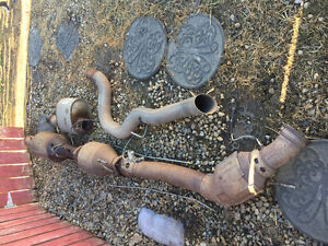 2012 Ram 3500 Diesel Stock Exhaust and Tail Pipe