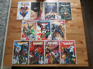 DC Comic Book Collection - Batman, Justice League, Harley Quinn,