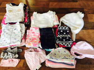 0-6 Month Baby Girl Clothing